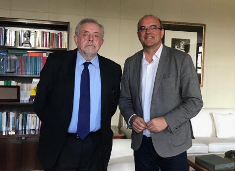 Anselmo Pestana y Octavio Granado
