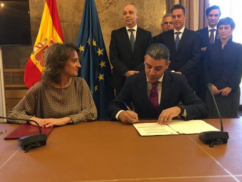 Narvay Quintero y Teresa Ribera