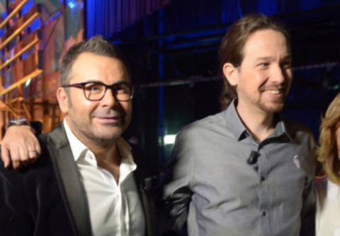 Jorge Javier Vázquez y Pablo Iglesias