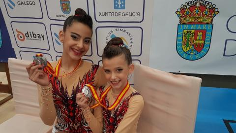 Veruska Rodríguez y Lidia Jane Edmonds
