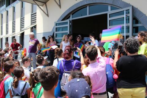 Candelaria celebra el Día Internacional contra la homofobia