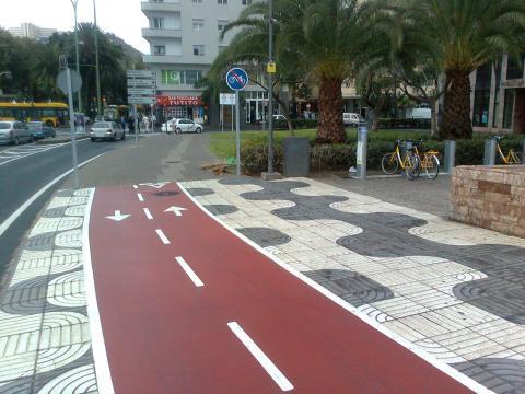 Carril bici de Las Palmas de Gran Canaria