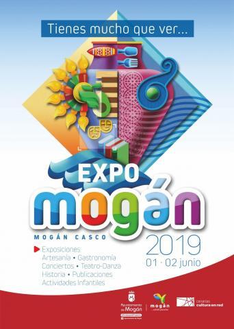 Cartel Expo Mogán 2019