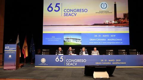 Inauguración del Congreso Nacional de la Sociedad Española de Angiología y Cirugía Vascular