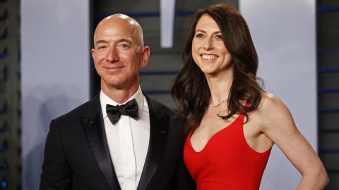 Jeff y MacKenzie Bezos