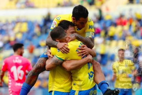 Jugadores de la UD Las Palmas