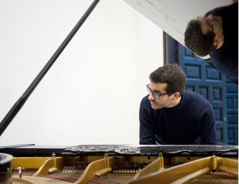 El pianista Juan Pérez Floristán