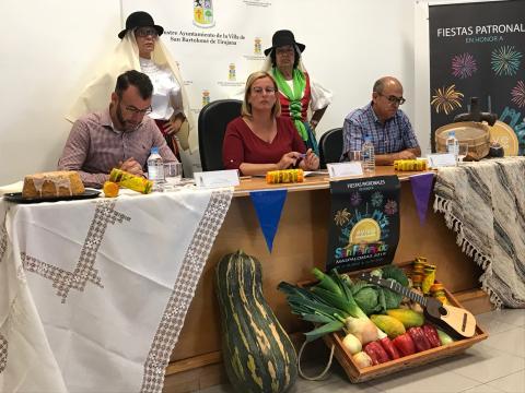 Presentación de las Fiestas Patronales de San Fernando