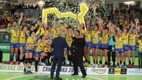 Rocasa Gran Canaria campeón de la Liga Guerreras Iberdrola