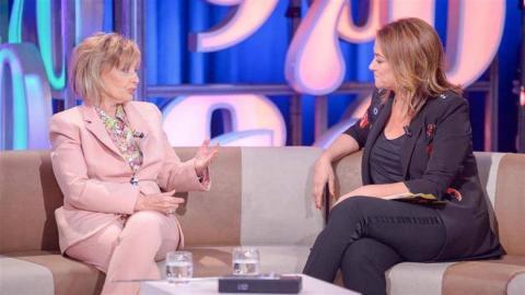 """Toñi Moreno y María Teresa Campos en """"Un año de tu vida"""" de Canal Sur"""