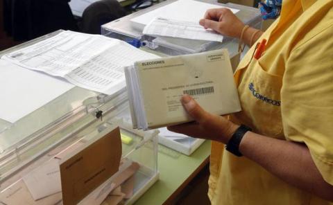 Votos por Correos