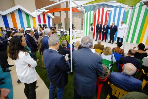 Inauguración de la Terraza Solidaria Rotary