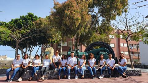 Candidatos a reina y míster de las Fiestas Mayores en honor a San Antonio de Padua