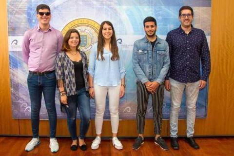 Equipo del Consejo de Estudiantes de la ULPGC
