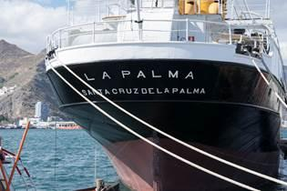 """Barco canario Correíllo """"La Palma"""""""