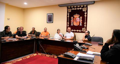 Técnicos municipales han mantenido una reunión con personal de GESPLAN