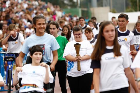 'XLV Olimpiadas Deportivo-Culturales' del Colegio Claret