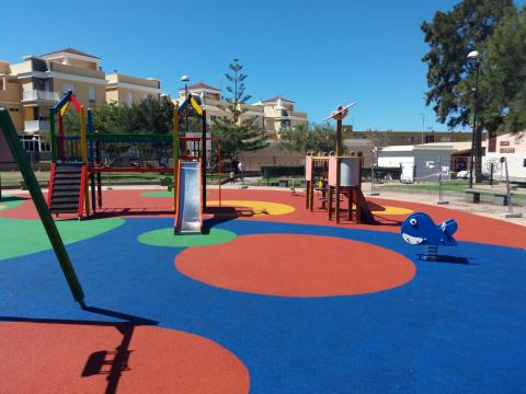 parque infantil de Punta del Lomo