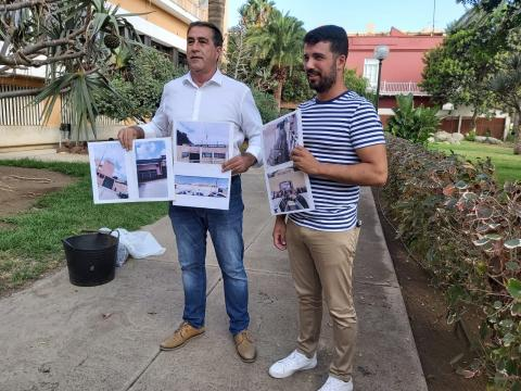 Francis Candil y David Suárez