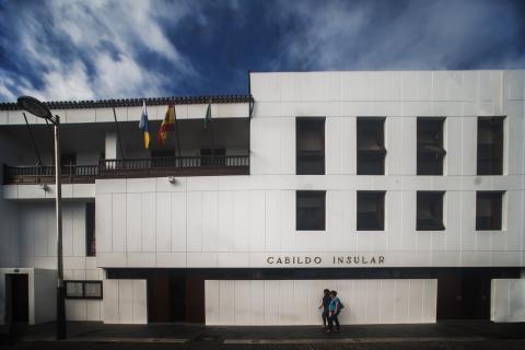 Fachada del Cabildo de El Hierro
