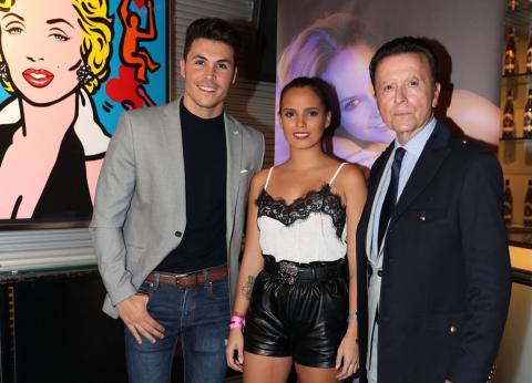 Kiko Jiménez, Gloria Camila y Ortega Cano