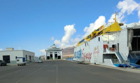 Terminal de embarque de Puerto de Morro Jable