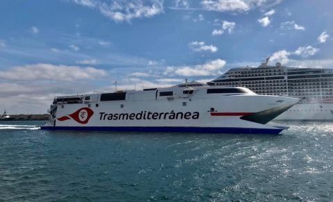Fast ferry Villa de Agaete