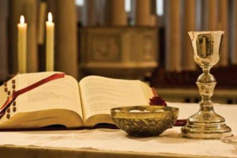 Altar religión