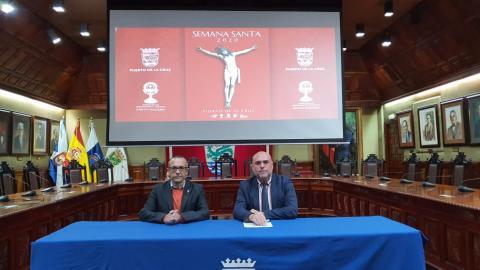Presentación de la Semana Santa de Puerto de la Cruz 2020