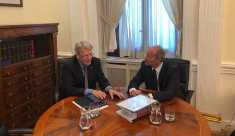Julio Pérez y Juan Carlos Campo