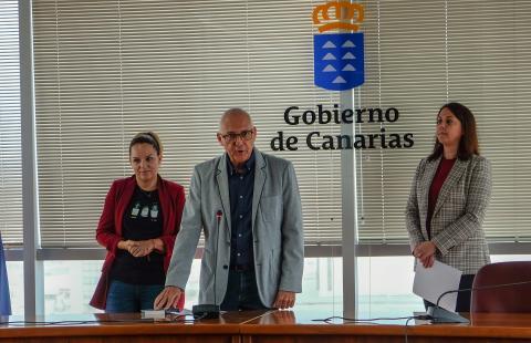 Toma de posesión de Víctor Manuel Ramírez como consejero de Diversidad del Gobierno de Canarias