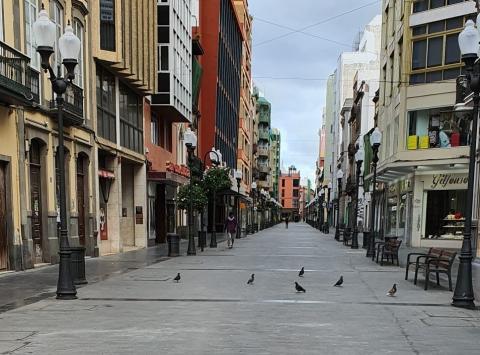 Calle Triana en Las Palmas de Gran Canaria