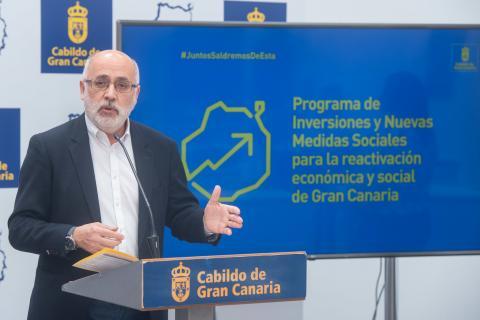 Antonio Morales, Presidente del Cabildo de Gran Canaria