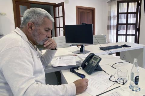José Miguel Rodríguez Fraga, alcalde de Adeje
