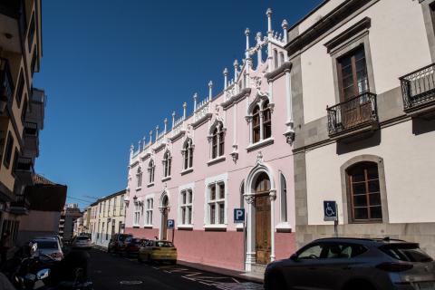 antiguo colegio de las Dominicas en La Laguna