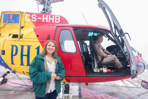 Servicio de Helicópteros del Cabildo