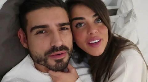 Fabio Colloricchio y Violeta Mangriñán