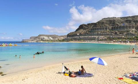Playa de Amadores, Mogán (Gran Canaria)