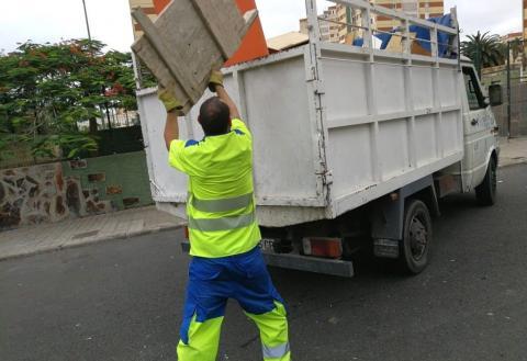 Recogida de trastos en Las Palmas de Gran Canaria