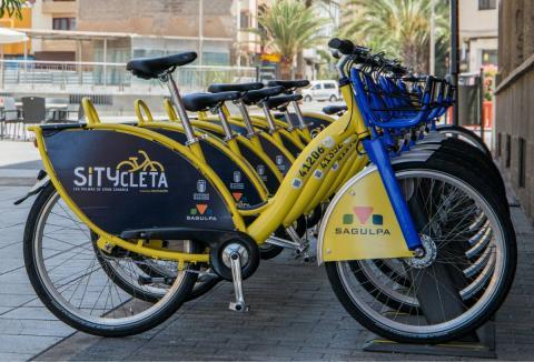 Sitycletas en Las Palmas de Gran Canaria
