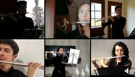 Músicos de la Escuela de Música de Teror. Gran Canaria