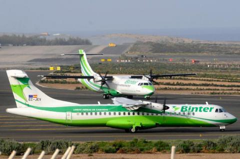 Aviones Binter