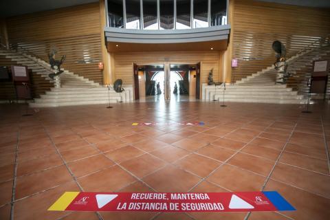 El Auditorio Alfredo Kraus y el Teatro Pérez Galdós continúan su actividad con nuevas medidas. Gran Canaria