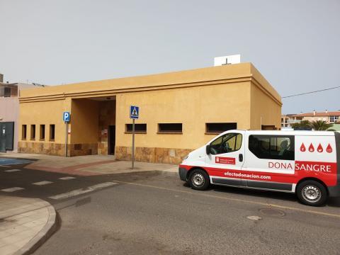 Unidad móvil ICHH en Corralejo. Fuerteventura