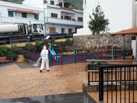 Parques infantiles. Valsequillo