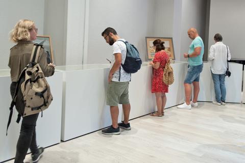 Visita temática sobre brujería en El Museo Canario. Gran Canaria