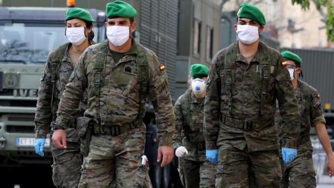 Ejército. Despliegue coronavirus