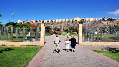 Parque del Sur. San Bartolomé de Tirajana