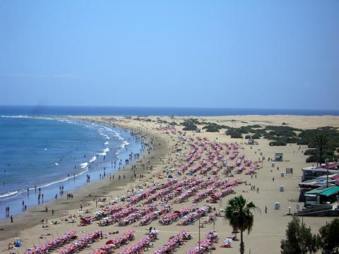Playa del Inglés. Gran Canaria