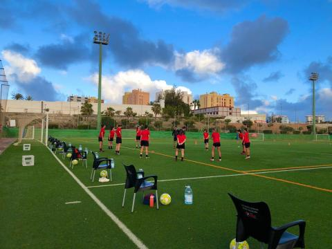 El Unión Viera femenino reanuda los entrenamientos